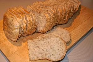 Gesneden glutenvrij brood