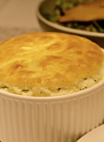 Soufflé met kaas