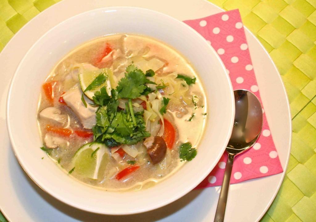 Tom Kha Kai (Thaise kippensoep)