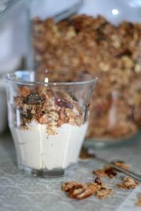 Granola met Griekse yoghurt